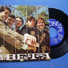 Discos de vinilo: LOS BETA INCENDIO EN RIO EP SPAIN 1967 PDELUXE. Lote 50411768