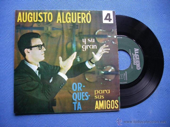AUGUSTO ALGUERO NUBES DE COLORES + 3 EP SPAIN 1967 PDELUXE (Música - Discos de Vinilo - EPs - Solistas Españoles de los 50 y 60)