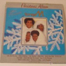 Discos de vinilo: BONEY M CHRISTMAS ALBUM LP PROMOCIONAL ARIOLA 1984. Lote 50426494