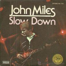 Discos de vinilo: JOHN MILES SINGLE SELLO DECCA AÑO 1977 EDITADO EN ESPAÑA PROMOCIONAL, ETIQUETA BLANCA. Lote 50427580