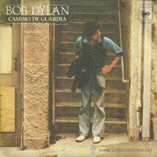 Discos de vinilo: BOB DYLAN SINGLE SELLO CBS AÑO 1978 EDITADO EN ESPAÑA . Lote 50427643