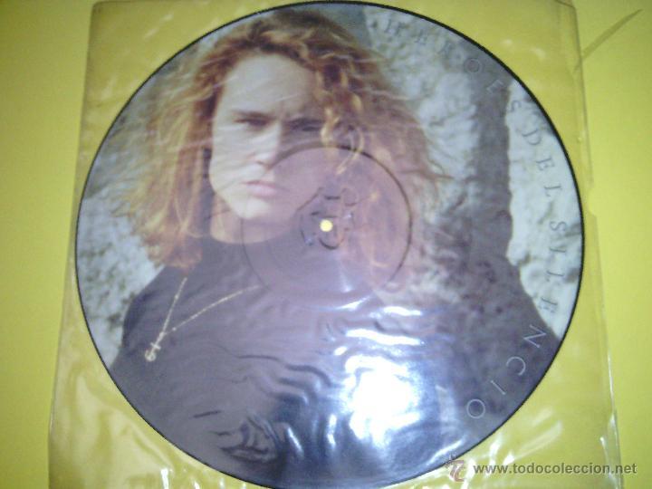HEROES DEL SILENCIO FLOR VENENOSA PICTURE DISC (Música - Discos - LP Vinilo - Rock & Roll)