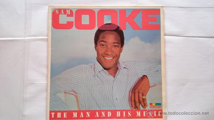 SAM COOKE - THE MAN AND HIS MUSIC (DOBLE LP RECOPILATORIO 1986) (Música - Discos - LP Vinilo - Funk, Soul y Black Music)