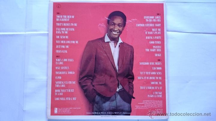 Discos de vinilo: SAM COOKE - THE MAN AND HIS MUSIC (DOBLE LP RECOPILATORIO 1986) - Foto 2 - 194365753