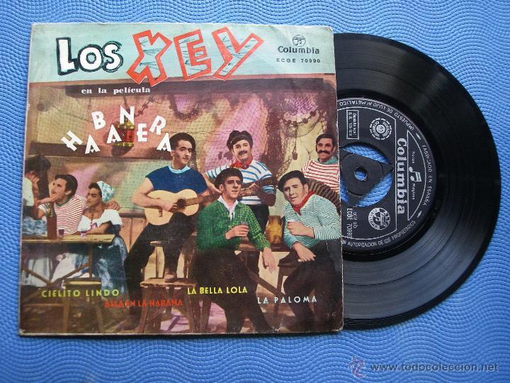 LOS XEY CIELITO LINDO + 3 EP SPAIN 1959 PDELUXE (Música - Discos de Vinilo - EPs - Bandas Sonoras y Actores)