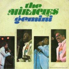 Discos de vinilo: MIRACLES, SG, GEMINI + 1, AÑO 1975. Lote 50436595