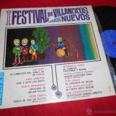Discos de vinilo: I FESTIVAL NACIONAL DE VILLANCICOS LP 1967 BELTER ALICIA GRANADOS LOS STOP CONTRAPUNTOS IRIONDO. Lote 50437729