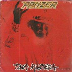 Discos de vinilo: PANZER SG CHAPA 1984 PROMO TOCA MADERA/ REINA CALLEJERA ROCK DURO HEAVY METAL OBUS. Lote 50438069