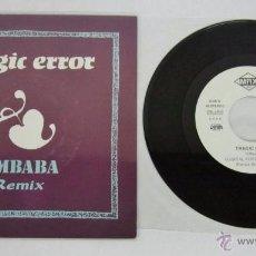 Discos de vinilo: TRAGIC ERROR - UMBABA / ORBITAL REMIX + PSICOREMIX - SINGLE - MAX 1991 SPAIN PROMO - VINILO N MINT. Lote 50441602