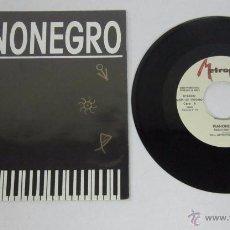 Discos de vinilo: PIANONEGRO - LONG MIX + RADIO EDIT + NEGROGROOVE - METROPOL 1990 SPAIN PROMO - N MINT. Lote 50441647