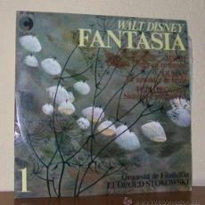 Discos de vinilo: ORQUESTRA DE FILADELFIA LEOPOLD STOKOWSKI -LP VINILO- BSO WALT DISNEY FANTASIA 1. Lote 50442592