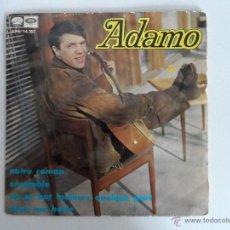 Discos de vinilo: ADAMO - NOTRE ROMAN, ENSEMBLE, ON SE BAT TOUJOURS QUELQUE PART, DANS MA HOTTE - EP AÑO 1967. Lote 50443510