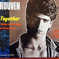 Discos de vinilo: ROUVEN - TOGETHER (FLYING ON THE WINGS OF TENDERNESS) . Lote 50443554