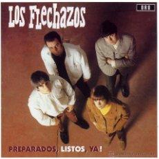 Discos de vinilo: LP LOS FLECHAZOS PREPARADOS LISTOS YA VINILO 180G + CD . Lote 50443628