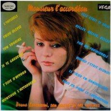 Discos de vinilo: BRUNO LORENZONI, SON ACCORDÉON, SES RYTHMES – MONSIEUR L'ACCORDÉON - LP FRANCE - VEGA – 12.018. Lote 50443785
