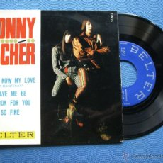Discos de vinilo: SONNY & CHER WHAT NOW MY LOVE EP SPAIN 1966 PDELUXE. Lote 50446383