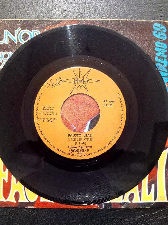 Discos de vinilo: SINGLE FAUSTO LEALI - UN'ORA FA - XIX FESTIVAL DE SAN REMO 1969 - MARFER. - Foto 4 - 50446839