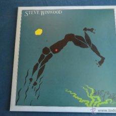 Discos de vinilo: PEDIDO MINIMO 6€ STEVE WINWOOD - ARC OF A DIVER - ORIGINAL ESPAÑOL, - ENCARTE CON LETRAS. Lote 50448278