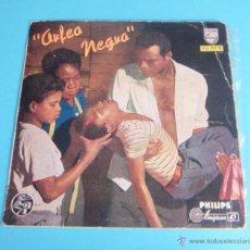 Discos de vinilo: BANDA ORIGINAL DEL FIM ORFEO NEGRO. VINILO COLOR AZUL. Lote 50450364