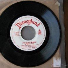Discos de vinilo: DISNEYLAND. CAPERUCITA ROJA. 7INCH. HISPAVOX 1971. HL 084-16. Lote 50450699