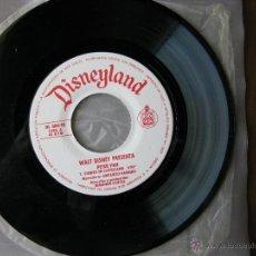 Discos de vinilo: DISNEYLAND. PETER PAN. 7INCH. HISPAVOX 1968. HL 084-10. Lote 50450730