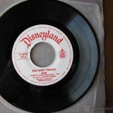 Discos de vinilo: DISNEYLAND. BAMBI. 7 INCH. HISPAVOX 1967. HL 084-05. Lote 50450747