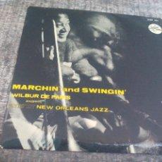 Discos de vinilo: MARCHIN ' AND SWINGIN' WILBUR DE PARIS AND HIS NEW ORLEANS JAZZ VOL. 1. METRONOME RECORDS EP VINILO . Lote 50451271