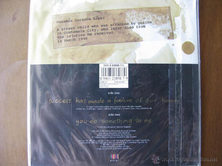 Discos de vinilo: SINEAD OCONNOR. 7INCH. SUCCESS HAS MADE A FAILURE OF OUR HOME. U.K. ENSING. 1992 - Foto 2 - 50451664