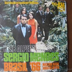 Discos de vinilo: HERB ALPERT SERGIO MENDES BRASIL 66 MAS QUE NADA AGUA DE BEBER. 7INCH. MADE IN SPAIN. Lote 50451730