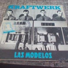 Discos de vinilo: KRAFTWERK LAS MODELOS. THE MODEL. 1982. EMI.SINGLE VINILO. Lote 50452620