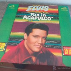 Discos de vinilo: ELVIS PRESLEY FUN IN ACAPULCO. RCA VICTOR. MADE IN USA. Lote 50453329