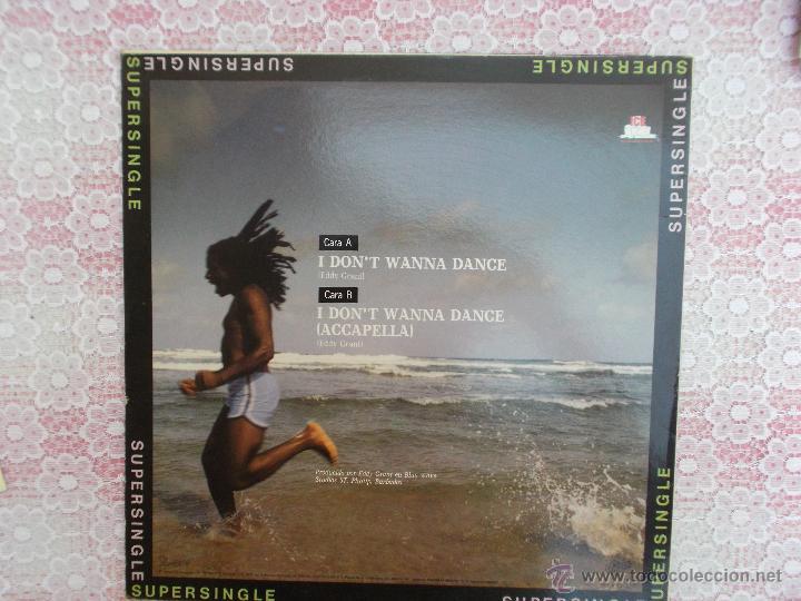 Discos de vinilo: EDDY GRANT - I DON´T WANNA DANCE - 1982 - Foto 2 - 50455492