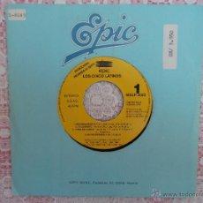 Discos de vinilo: LOS CINCO LATINOS - RECORDANDOTE - MI CARIÑITO Y OTRAS - PROM1992 PROMOCIONAL EP. Lote 50455668