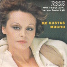 Discos de vinilo: ROCIO DURCAL,ME GUSTAS MUCHO DISCO OBSEQUIO DEL 79. Lote 50460448
