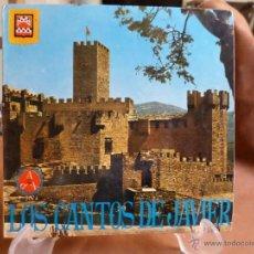 Discos de vinilo: DISCO LOS CANTOS DE JAVIER. Lote 49968467
