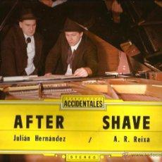 Discos de vinilo: LP AFTER SHAVE : JULIAN HERNANDEZ ( SINIESTRO TOTAL ) & ANTON R. REIXA ( OS RESENTIDOS). Lote 50466996