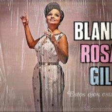 Discos de vinilo: LP BLANCA ROSA GIL . ESTOS OJOS, ESTAS MANOS ( CONTIENE PIERROT, MURIENDOME DE AMOR, TE CELO, ETC. Lote 50467356