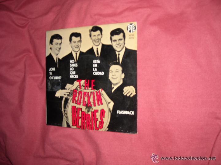 THE ROCKIN´BERRIES EP ¿QUE TE OCURRE? + 3 TEMAS 1965 SPA VER FOTO ADICIONAL (Música - Discos de Vinilo - EPs - Pop - Rock Internacional de los 50 y 60)