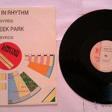 Discos de vinilo: THE BLACKBYRDS - WALKING IN RHYTHM / ROCK CREEK PARK (MAXI EDICION UK 1978). Lote 50471560