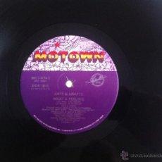 Discos de vinilo: MAXI ARTZ & KRAFTZ-WHAT A FEELING. Lote 50473765