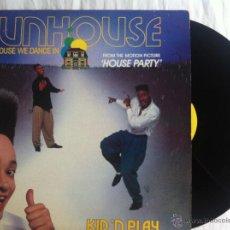 Discos de vinilo: MAXI KID'N PLAY-FUNHOUSE. Lote 50473827
