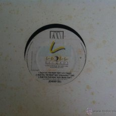 Discos de vinilo: MAXI JOHNNY GILL-RUB YOU THE RIGHT WAY. Lote 50473894