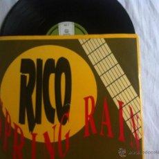 Discos de vinilo: MAXI RICO SPRING RAIN. Lote 50473914