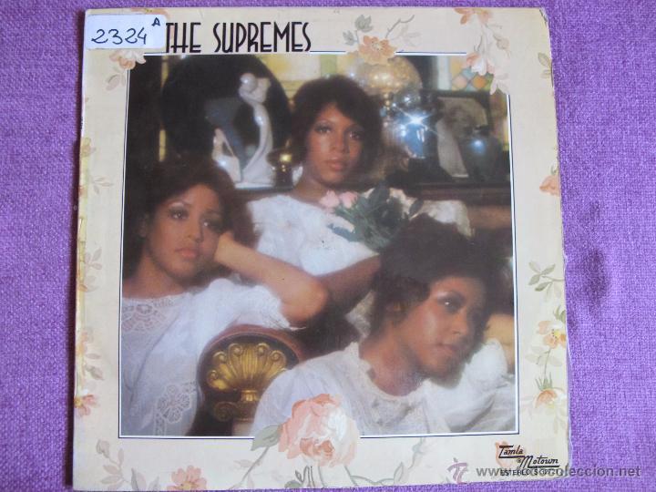 LP - THE SUPREMES - SAME (SPAIN, TAMLA MOTOWN RECORDS 1975) (Música - Discos - LP Vinilo - Funk, Soul y Black Music)