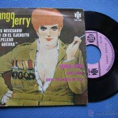 Discos de vinilo: MUNGO JERRY NO ES NECESARIO ESTAR EN EL..EJERCITO....EP MEJICO 1952 PDELUXE. Lote 50480459