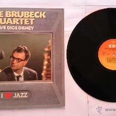 Discos de vinilo: THE DAVE BRUBECK QUARTET - DAVE DIGS DISNEY (1958) (COLECCION 'I LOVE JAZZ' 1983). Lote 50480826