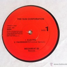 Discos de vinilo: MAXI THE SUN CORPORATION-ELECTRA-MEGABEAT 03. Lote 50481834