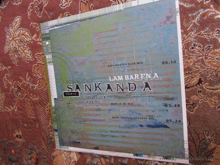 LAMBARENA- MAXI-SINGLE DE VINILO -TITULO SANKANDA- BACH TO AFRICA- 3 TEMAS- AÑO 95- NUEVO A ESTRENAR (Música - Discos de Vinilo - Maxi Singles - Étnicas y Músicas del Mundo)