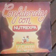 Discos de vinilo: COLA-CAO. LA CANCION DEL NEGRITO CON LAS DOS VERSIONES 1947 Y 1975. PERFECTO ESTADO SIN ESTRENAR. Lote 50484499