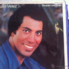 Discos de vinilo: LP JOSE VELEZ-DESPIERTATE MUJER. Lote 50484991